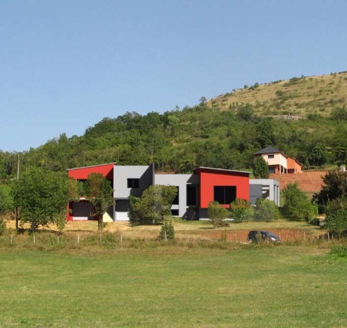 Architecte à Marcillac-Vallon